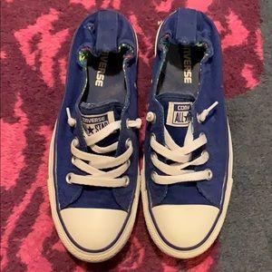 Royal blue Converse